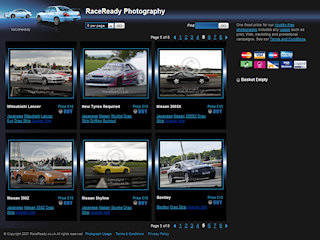 Photography gallery websites